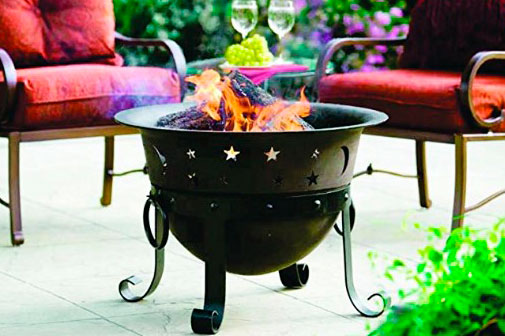 Heavy Duty Cast Iron Fire Pit image